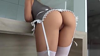 Girl from Nude Maid Service been Fucked Hard