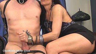mistress melanie hot sex with lucky slave