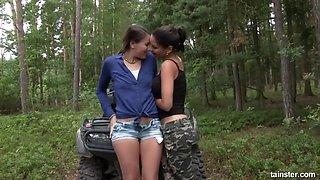 Pissing Lesbian Girlfriends