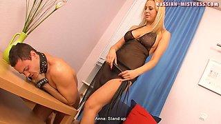 Russian-Mistress Video: Anna