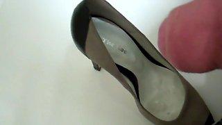 One girl ... 4 heels