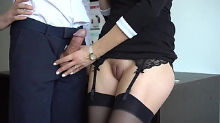 nice office milking slut..you will cum