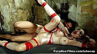 Amazing pornstars Van Damme, Chessie Kay in Incredible Big Tits, Fucking Machines adult movie