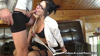 Livecam Boss Fucks Secretary In All Her Holes - KinkyFrenchies