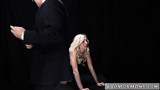 Brother fucks teen associate's sister and tries first big
