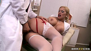 Hot Nurse Gets Fucked In The Hospital