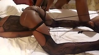 Amateur Teen in Bondage loves to be used like a Sex Doll