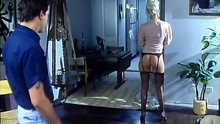 Hot and lovely blondie fucked and splattered with cum