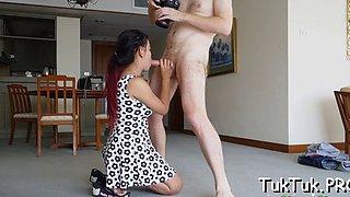 talented thai slut blows a dick segment