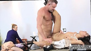Daddy knows and doctor fucks mother playmate's daughter