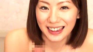 Crazy Japanese girl Yuma Asami in Horny Blowjob/Fera, Squirting/Shiofuki JAV scene