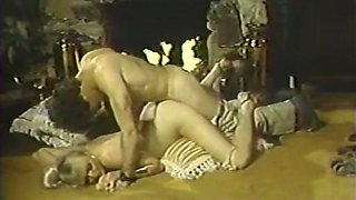 Marvelous classic milf blows dick and fucks in doggy style position