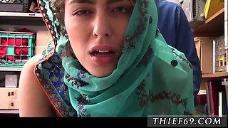 Big ass milf pawn shop HijabWearing Arab Teen Harassed For Stealing