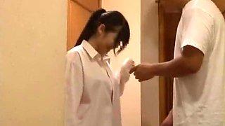 Horny Japanese slut Hitomi Nakura in Amazing Girlfriend, Compilation JAV clip