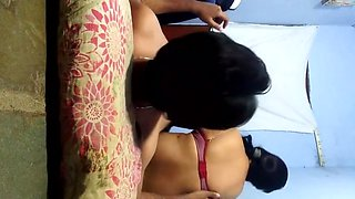 22 housewife with boyfriend doggy with hot sound