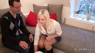 German Teacher fuck young school girl after Homework