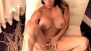 Incredible amateur Cougar, Masturbation porn clip