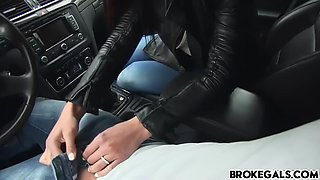 victoria sweet gets in a strangers car
