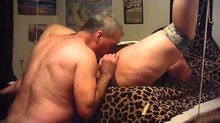 Master tied me down and licked my pussy