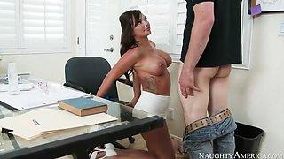 Lick your teacher's pussy boy