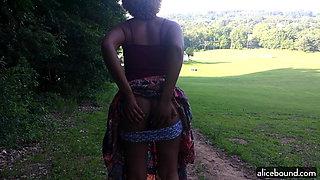 Flashing At The Park