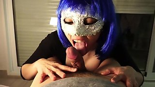Me sucking and swallowing younger guy's cum - first video