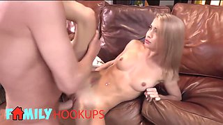 Family Hooukps - Kinky Step Dad Fucks His Step Daughter Paisley Rae While Mom Is Away